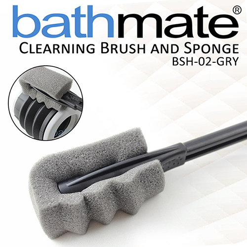 英國BATHMATE CLEARNING BRUSH AND SPONGE 水幫浦專用清潔刷 BSH-02-GRY